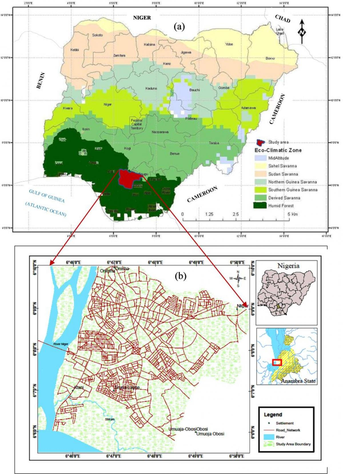Map Of Africa Vegetation.Map Of Nigeria Showing Vegetation Belts Map Of Nigeria Showing