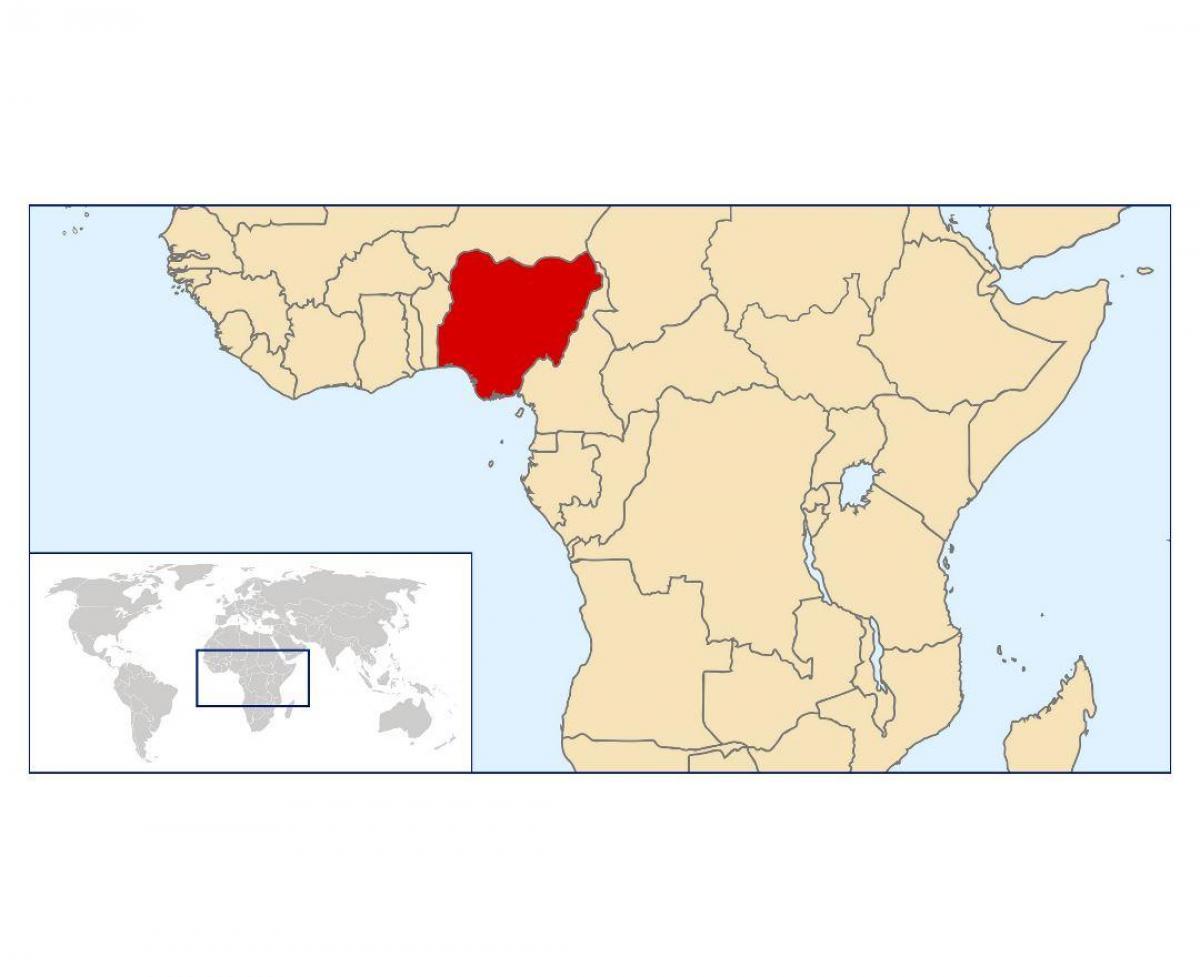 Nigeria Map Location Nigeria Location On World Map Western Africa